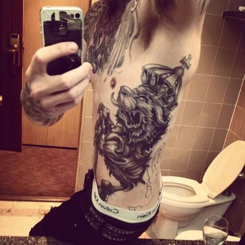 I love this tattoo jamescassells for Asking alexandria tattoo