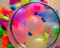 Water balloon fights! <3
