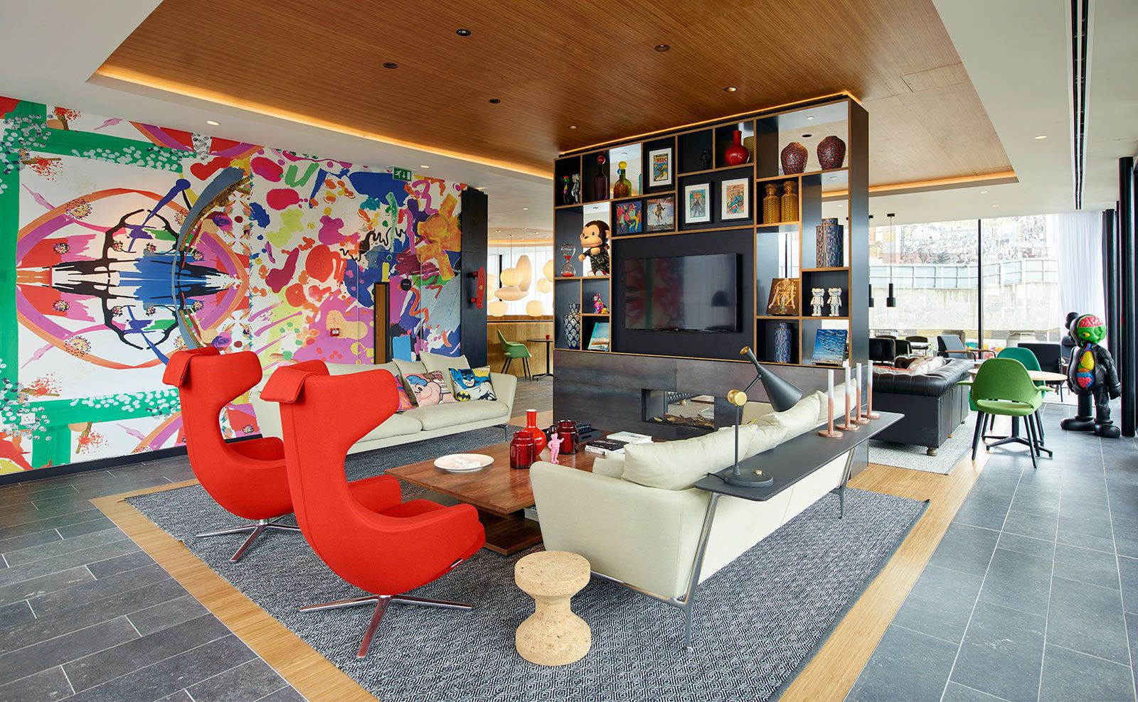 citizenM Takes London | City art, Citizenm london and Interiors