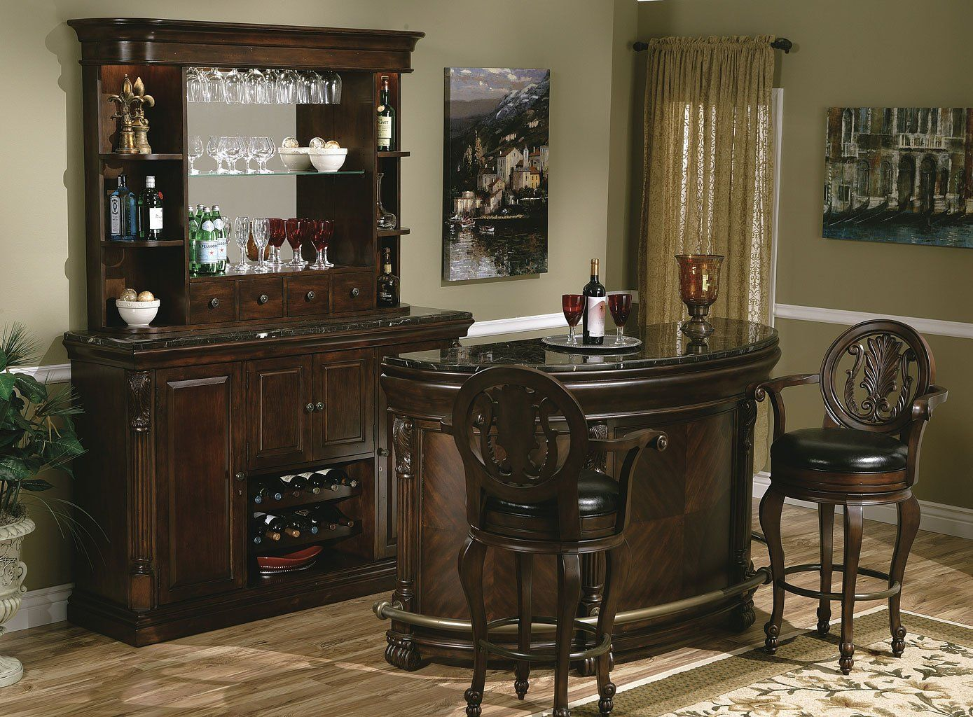 Niagara Home Bar Set Home Bar Sets Home Bar Furniture Home Bar