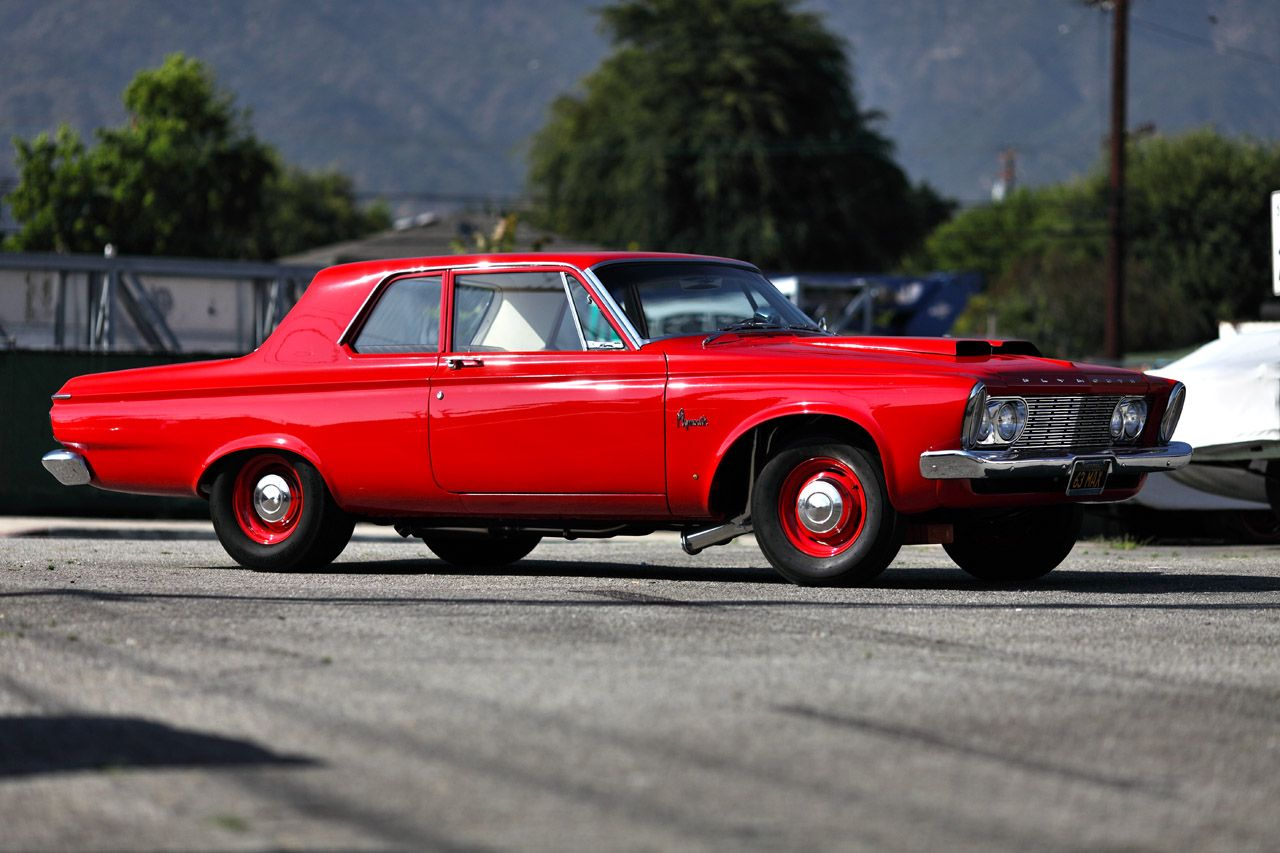 '63 Plymouth Savoy 426 Stage III Max Wedge ride. screw