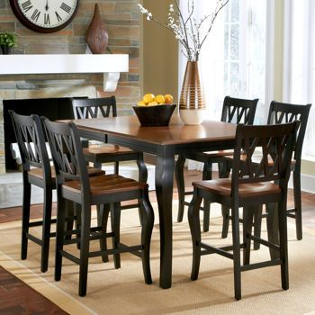 Costco Roslyn 7 Piece Rectangle Counter Height Dining Set Valid 7 25 13 Through 8 25 Counter Height Dining Sets Counter Height Table Sets Dinning Room Tables Counter height tables and chairs sets