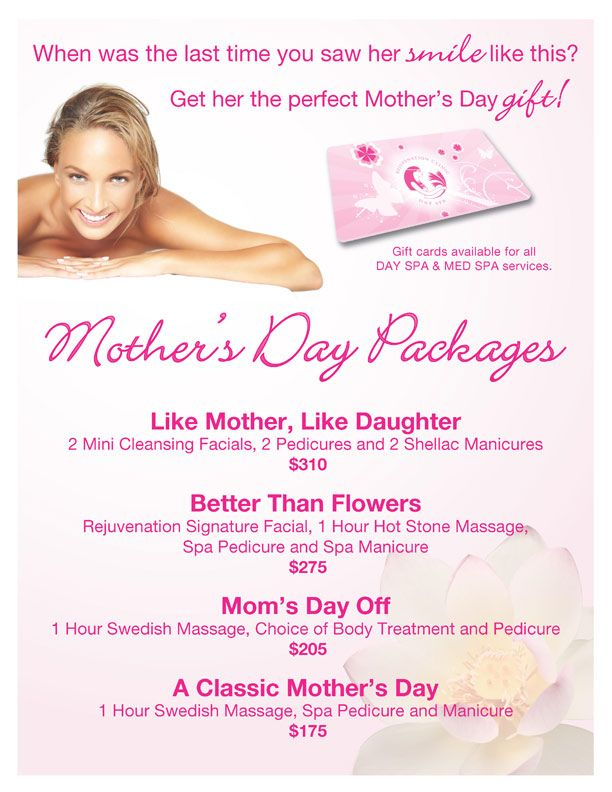 Mother S Day Packages Rejuvenation Clinic Day Spa