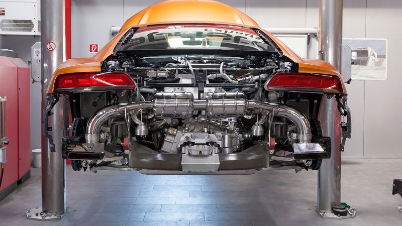This Audi R8 V10 Sounds Great With A Capristo Exhaust Audi R8 V10 Audi R8 Audi