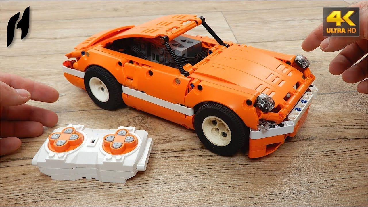 How to Build Lego Technic Porsche 959 (MOC 4K) en 2020