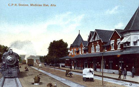 Editing Luke: Train Station in Medicine Hat