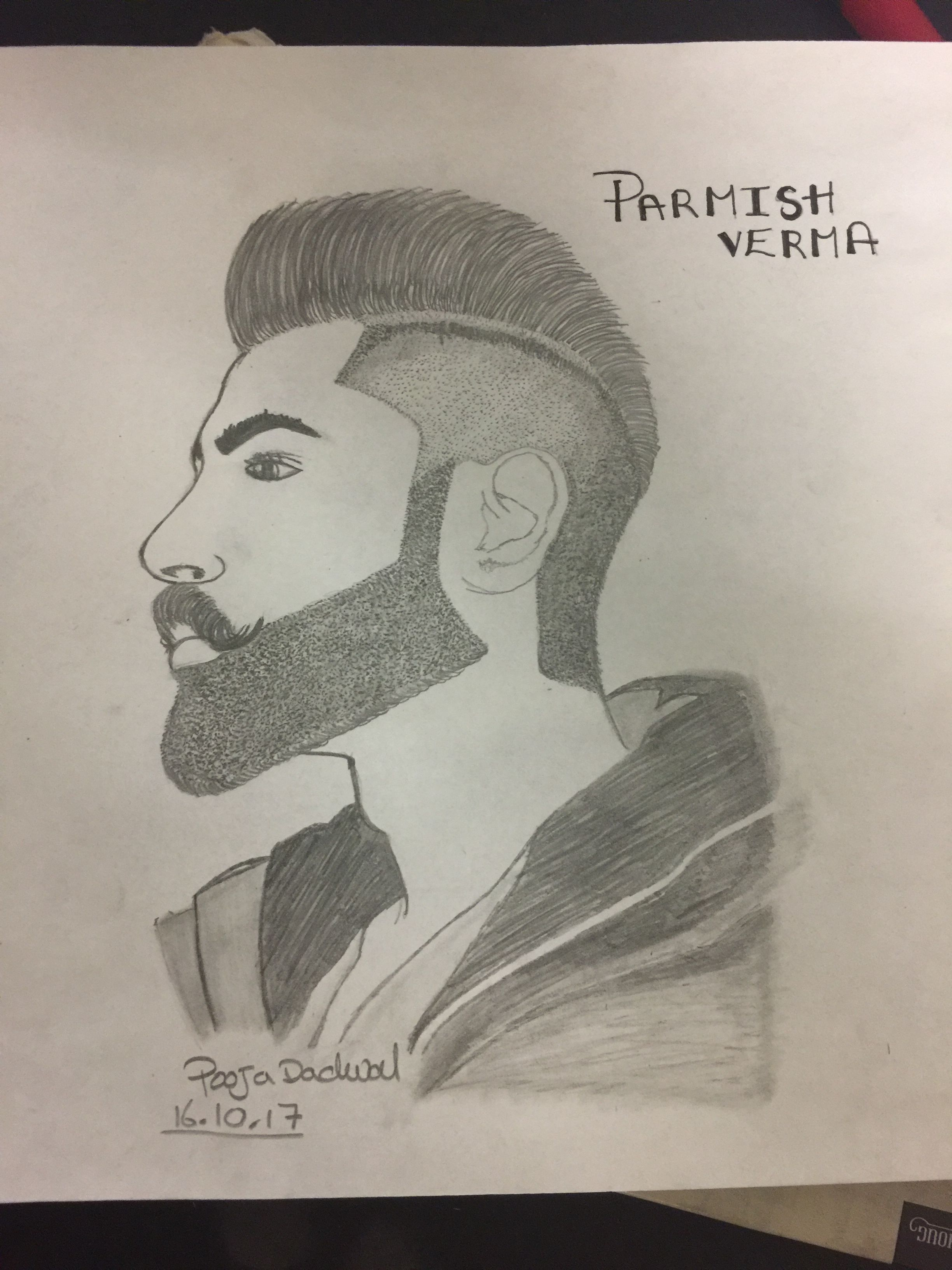 Parmish verma fan dhakk pencil sketching drawing s drawings drawing pics