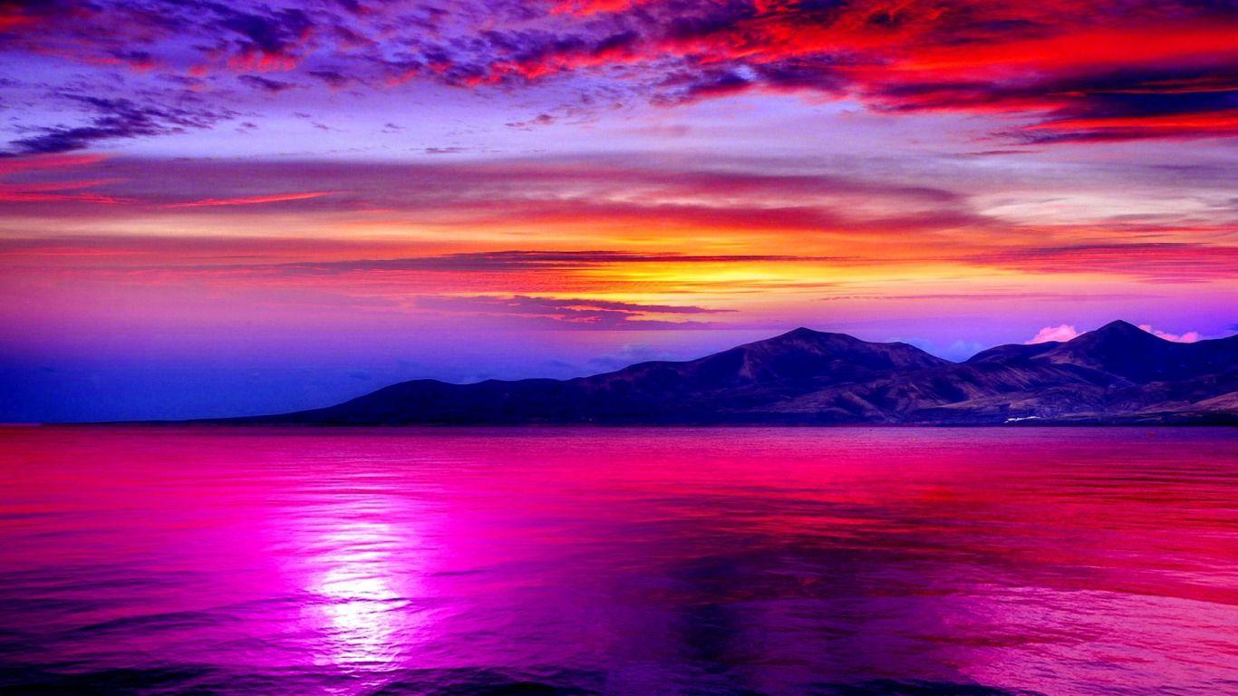 Colorful Scenic Desktop Wallpaper   Mount Cook New Zealand ...