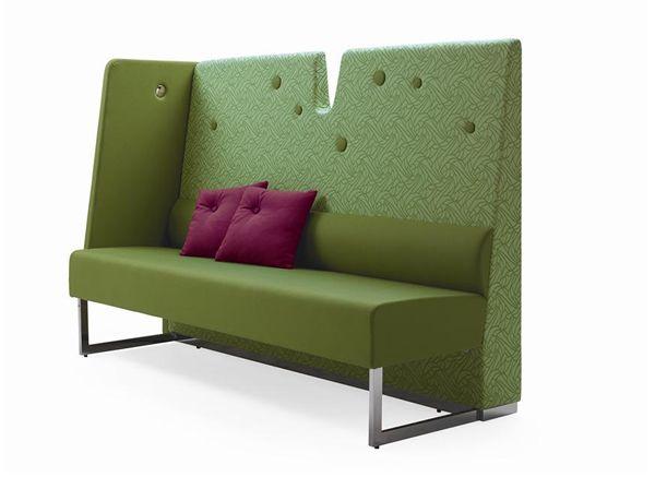 'le mur sofa' by materia