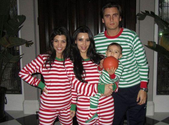 Christmas Morning from Kardashian Christmas Photos  34a868c1d