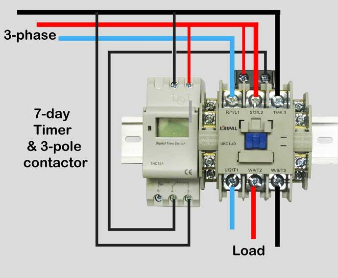 820c9fcc4a98916840f783bb1f7ff123 wire motor control contactor waterheatertimer org how to  at creativeand.co