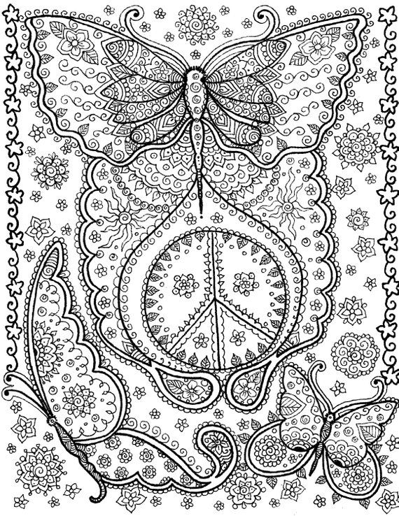 Pin On Color Art Therapy Various Pages