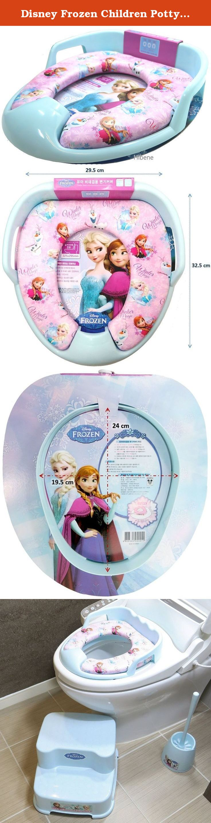 Disney Frozen Children Potty Soft Toilet Training Seat Cover Whether It S At Home Or On
