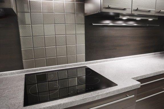 Küche Fliesen fliesen in metalloptik für die küche fliesen homestory