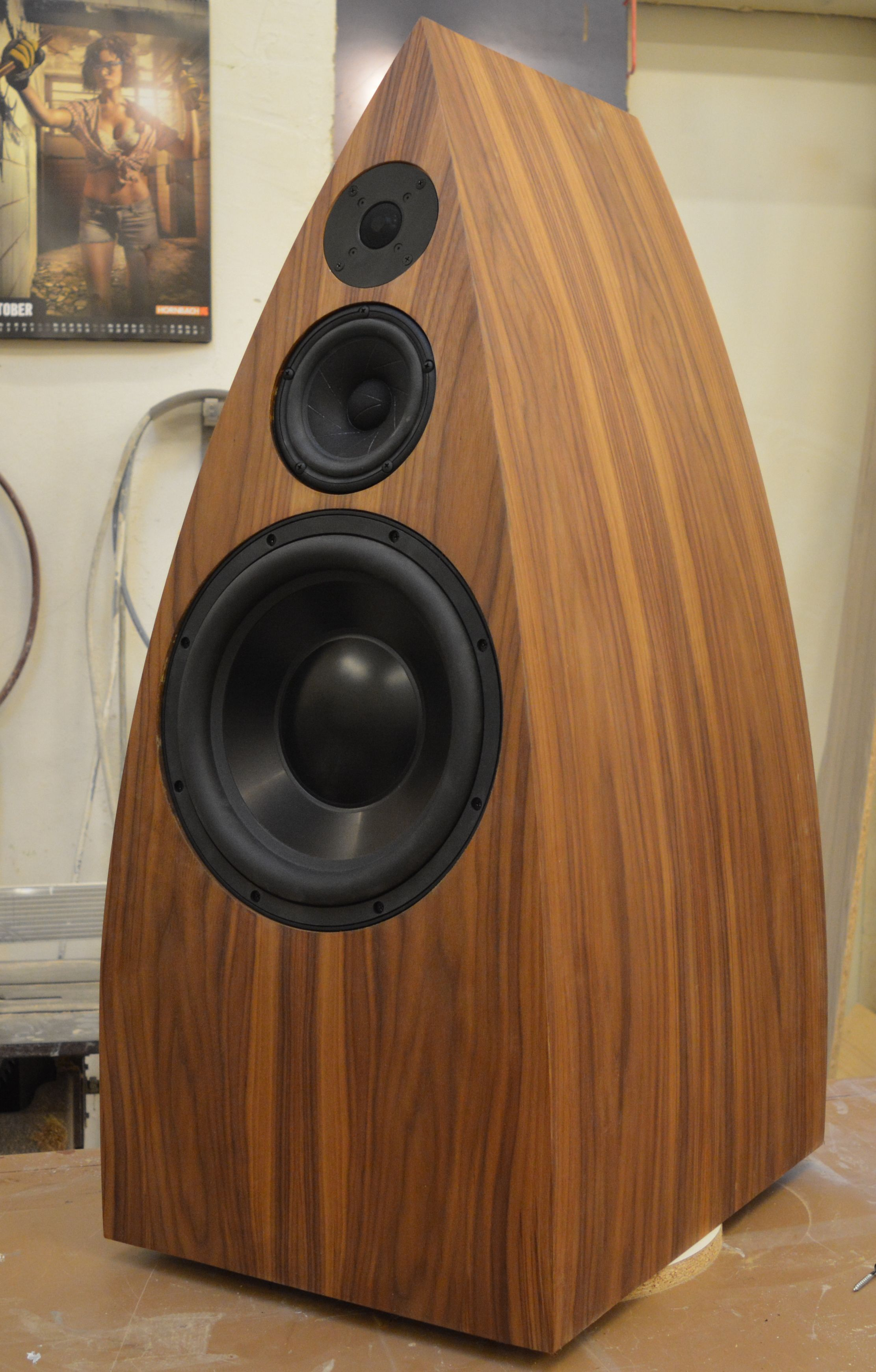 My first loudspeakers A DIY-Rebuild: Byzanz reloaded (#QuickCrafter)