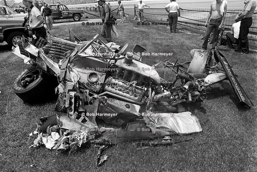 Pollard Used Cars >> danny ongais | INDIANAPOLIS, IN - MAY 24: The wreckage of ...