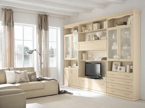 Parete attrezzata soggiorno classico MAGNOLIA Colombini | Idee per ...