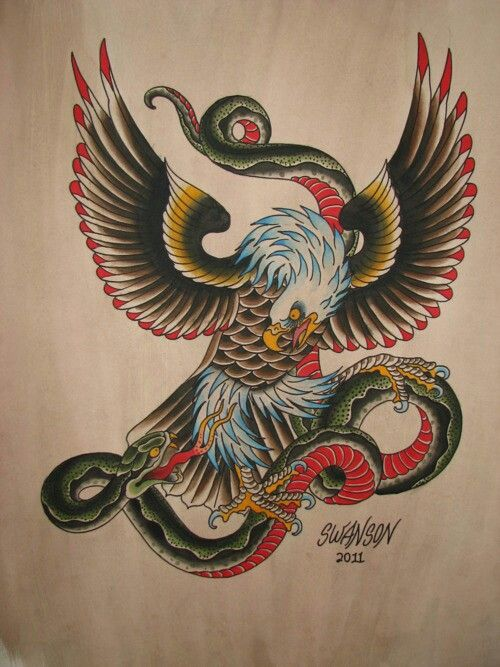Swanson Tattoo Tatuajes Aguilas Tatuajes Aguila Tattoo