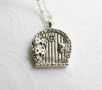hobbit door necklace!