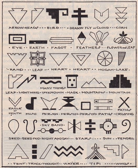 Symbols from the Book of the Camp Fire Girls. Published 1954 by Camp Fire Girls, Inc