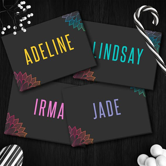 Lularoe Names/Styles Cards Instant Download 5x7 Home Office