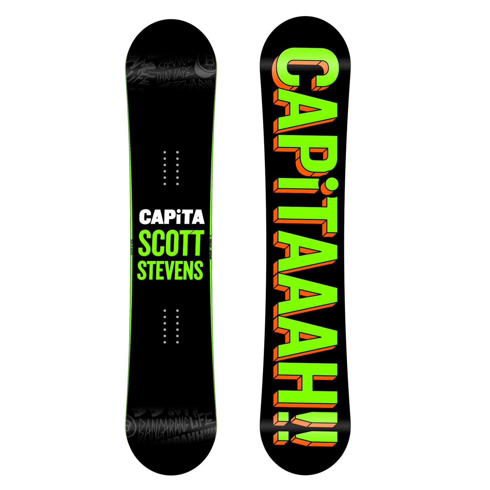 Scott Stevens Signature Board For 2015 Capita Scott Stevens Pro Mens Snowboard 2015 Mens New Stuff The Board Basement Snowboarding Capita Snowboard