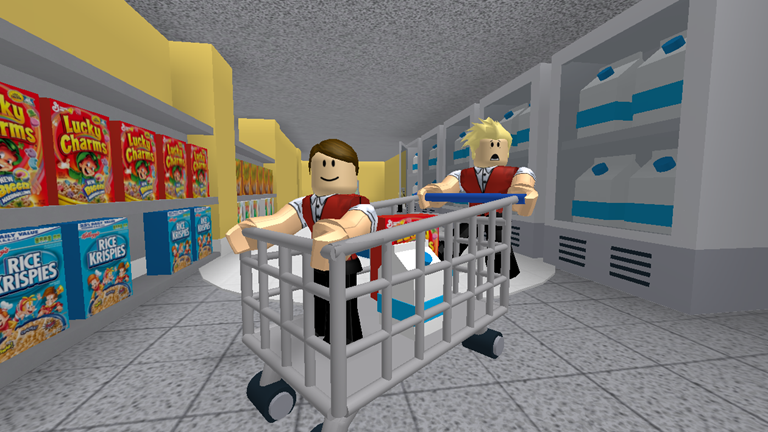 New Escape The Supermarket Obby Roblox Roblox What Is