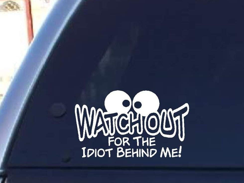 BACK OFF I AM NOT THAT KIND OF CAR Sticker Vinyl Decal Window - Funny car decal stickers