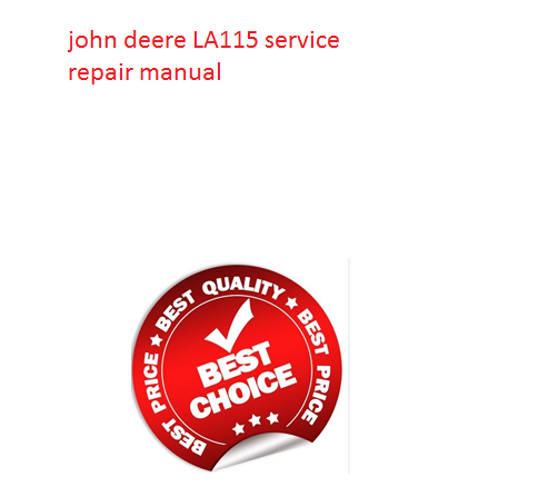click on the above picture and download john deere la115 service repair  manual