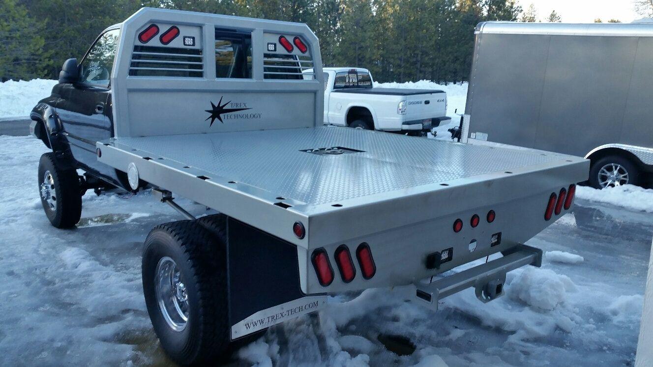 Flatbed's T/REX TECHNOLOGY LLC Mega cab long bed
