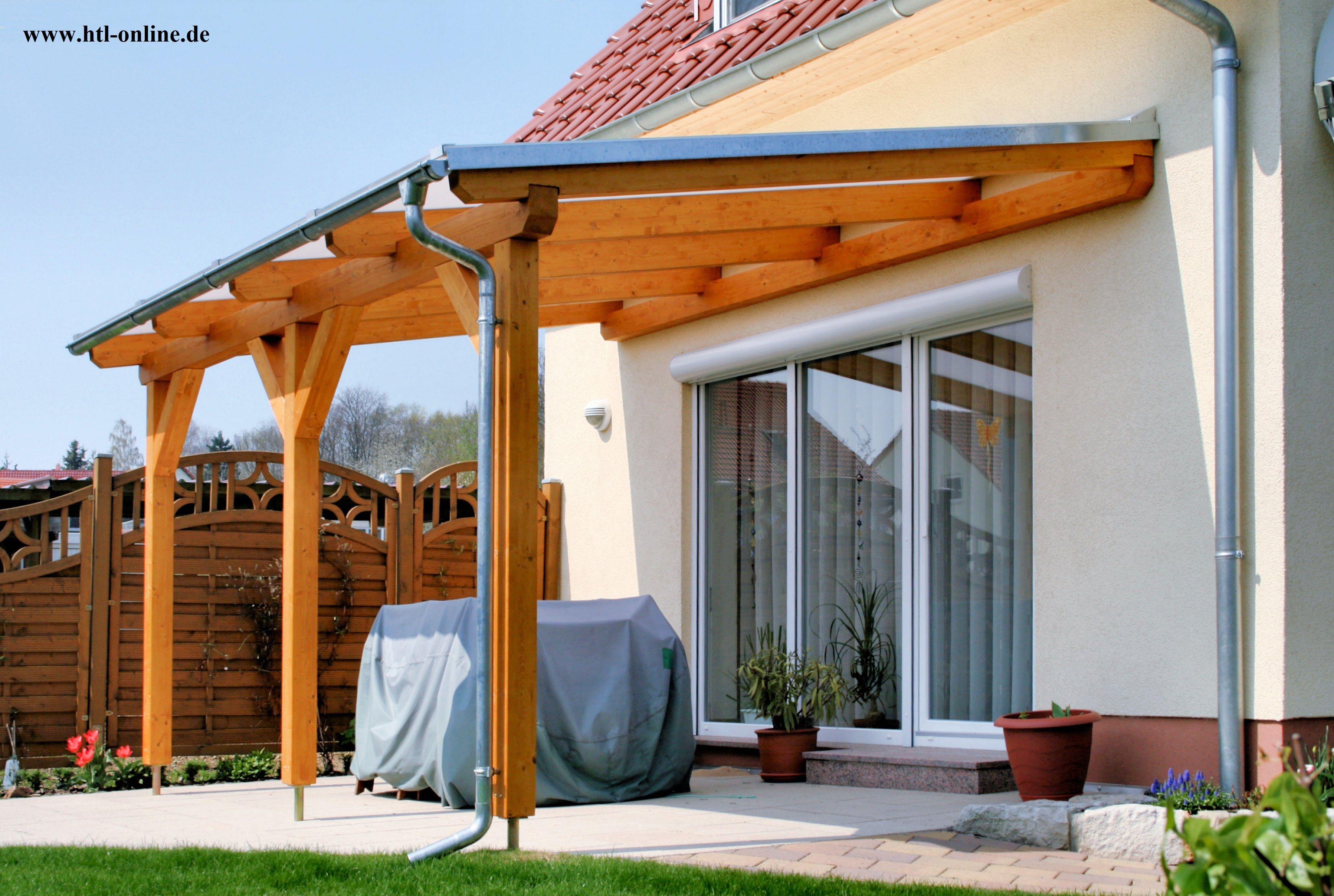 Uberdachung Aus Holz Htl Holztechnik Holz Arbeit Mit Holz Uberdachung Aus Holz Uberdachung Holz Uberdachte Terrassen Uberdachungen