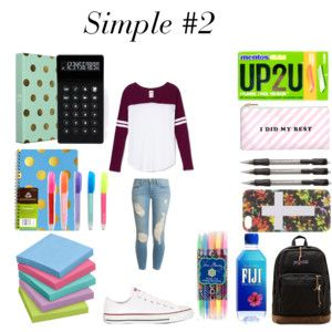 Back to School- Outfit #13 + Supplies