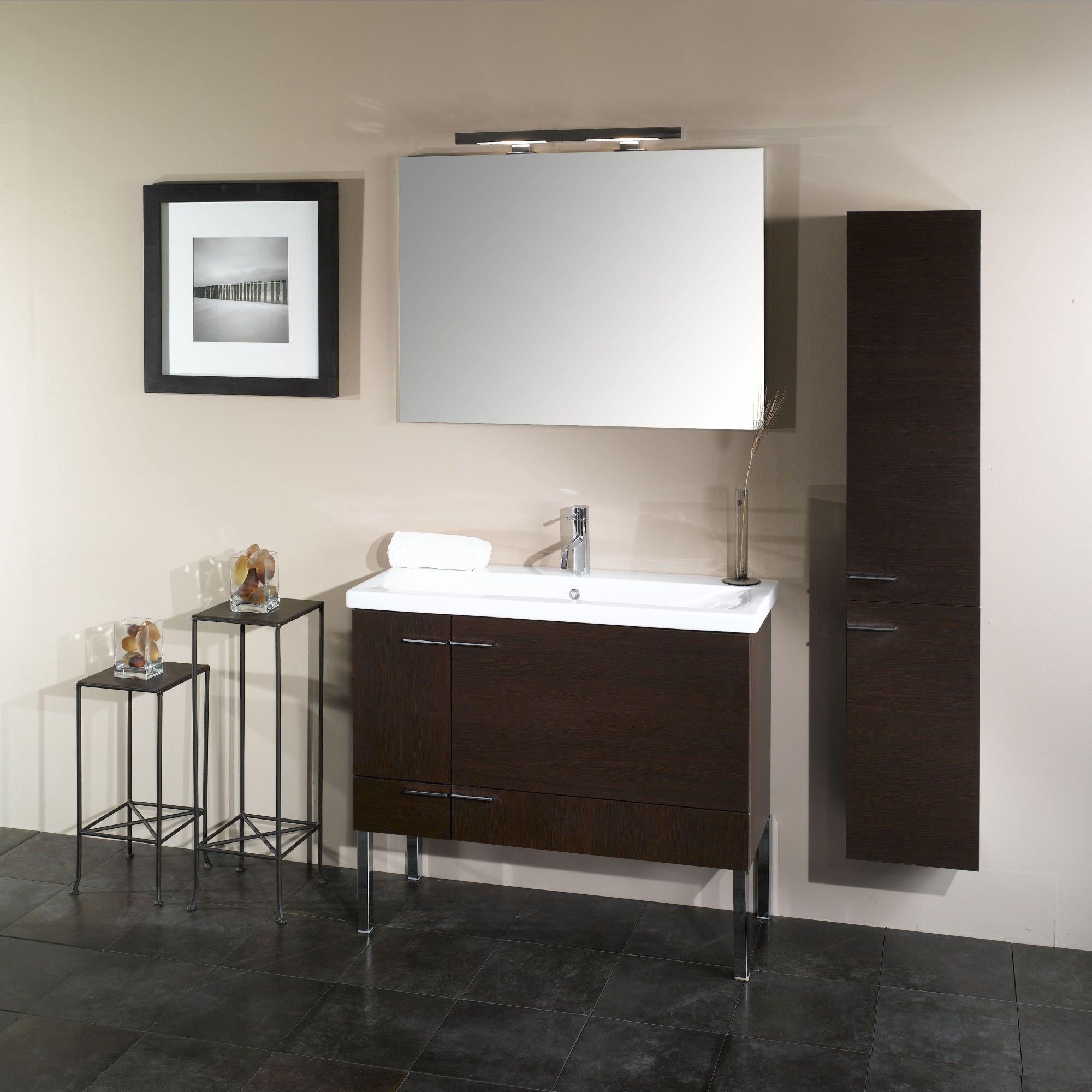 """Iotti by Nameeks Simple NS2 38 3"""" Wall Mounted Bathroom Vanity Set"""