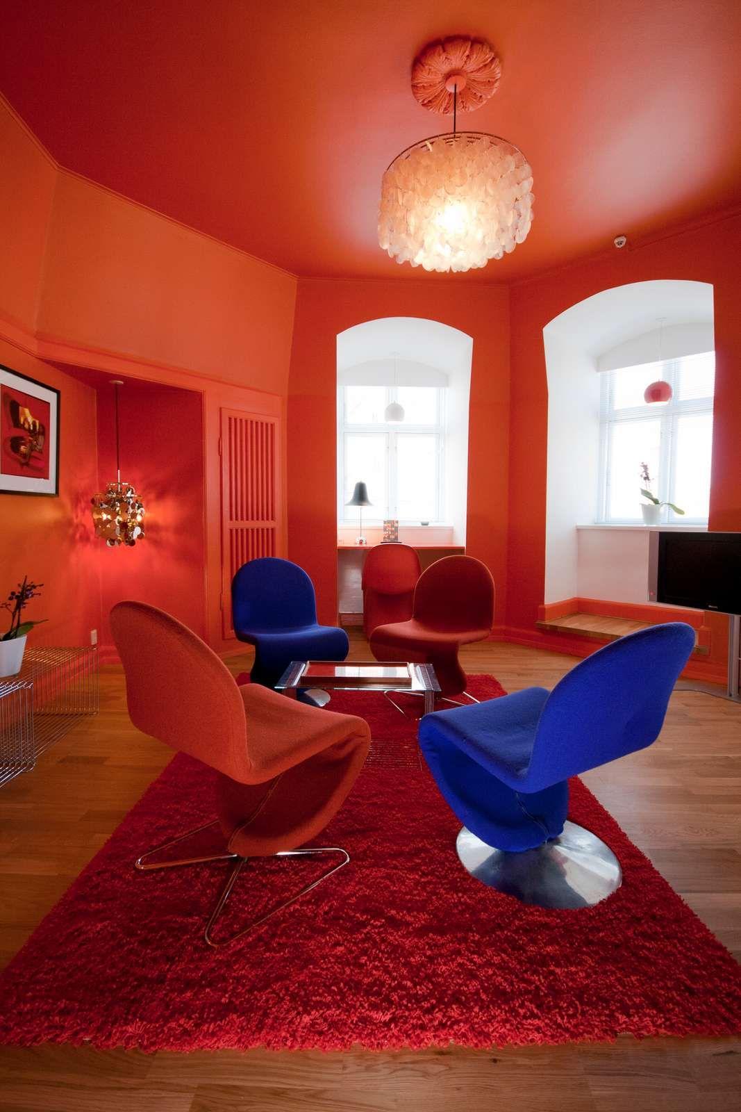 Hotel Room Furniture: Verner Panton Room In Hotel Alexandra