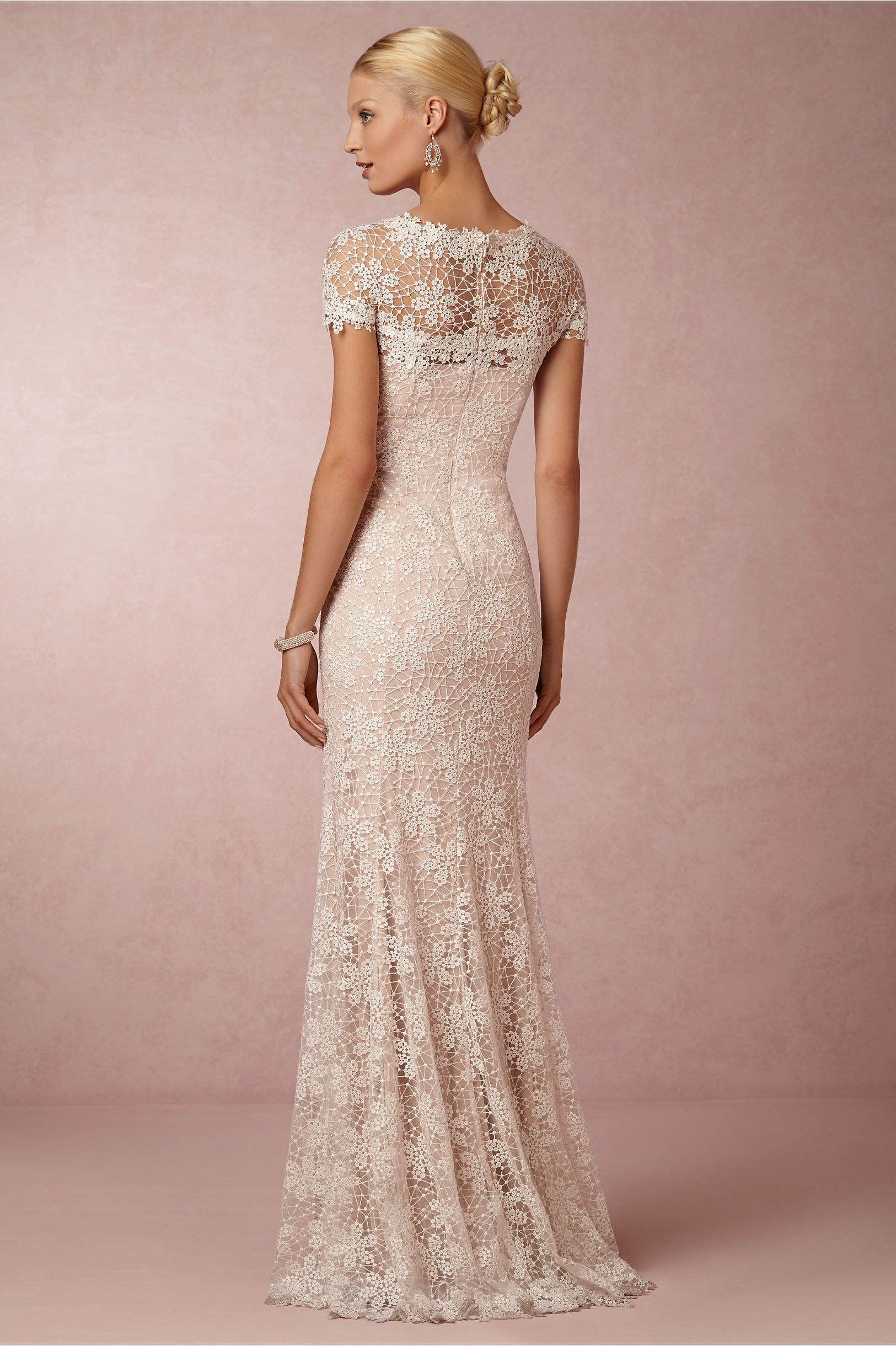 Nova lace gown in bride wedding dresses at bhldn