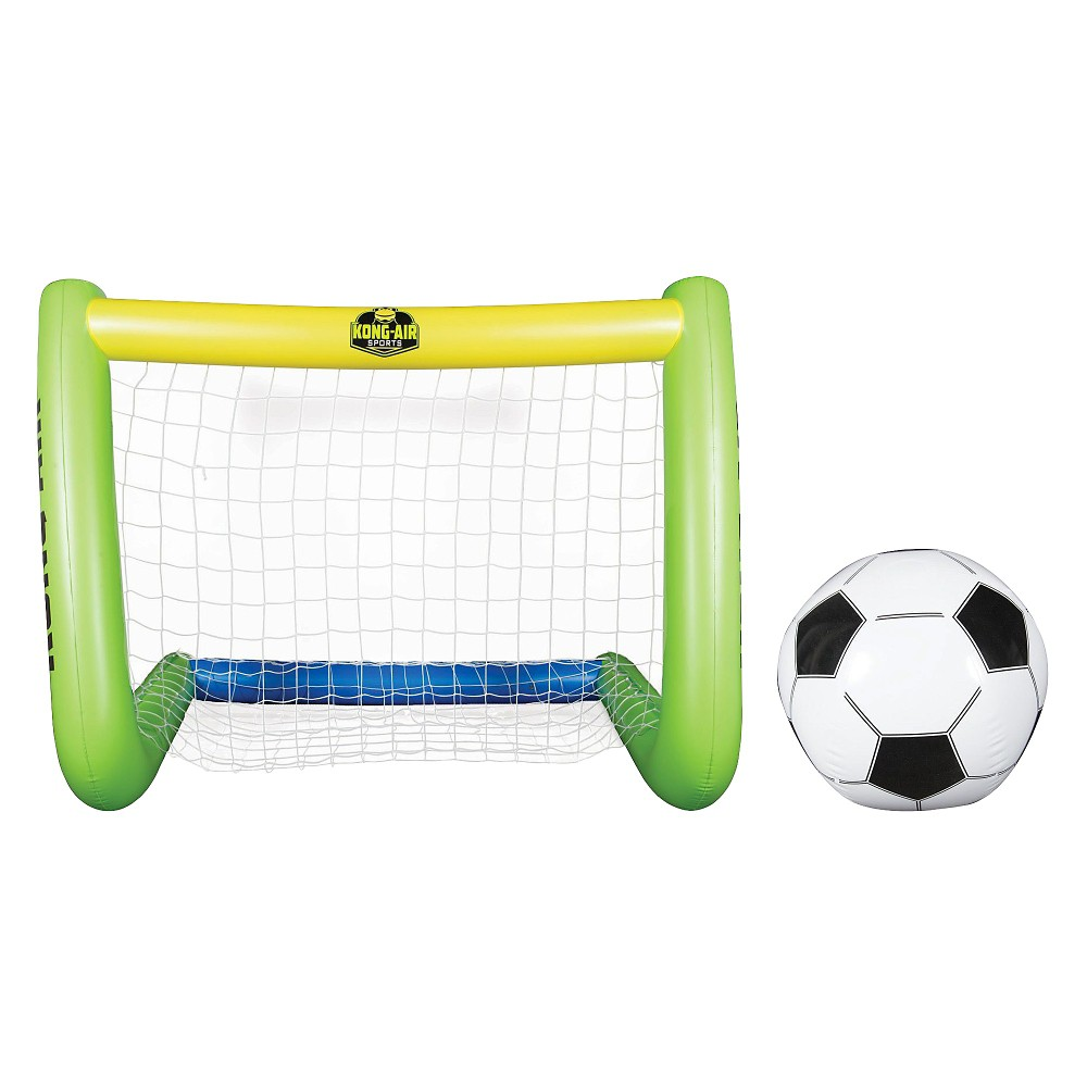Your game just got bigger with Giant Inflatable Soccer Goal with