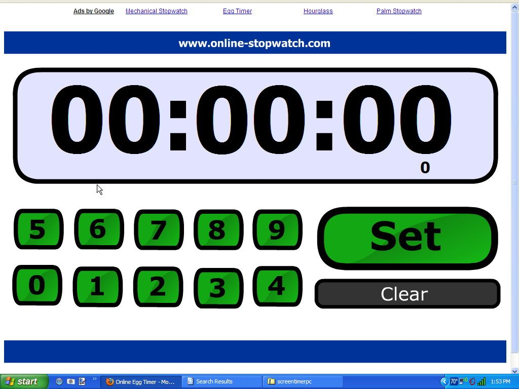 online timer   Smart Board Only   Pinterest   Countdown timer