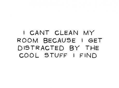 Hvorfor kan jeg ikke rense mit v�relse ...