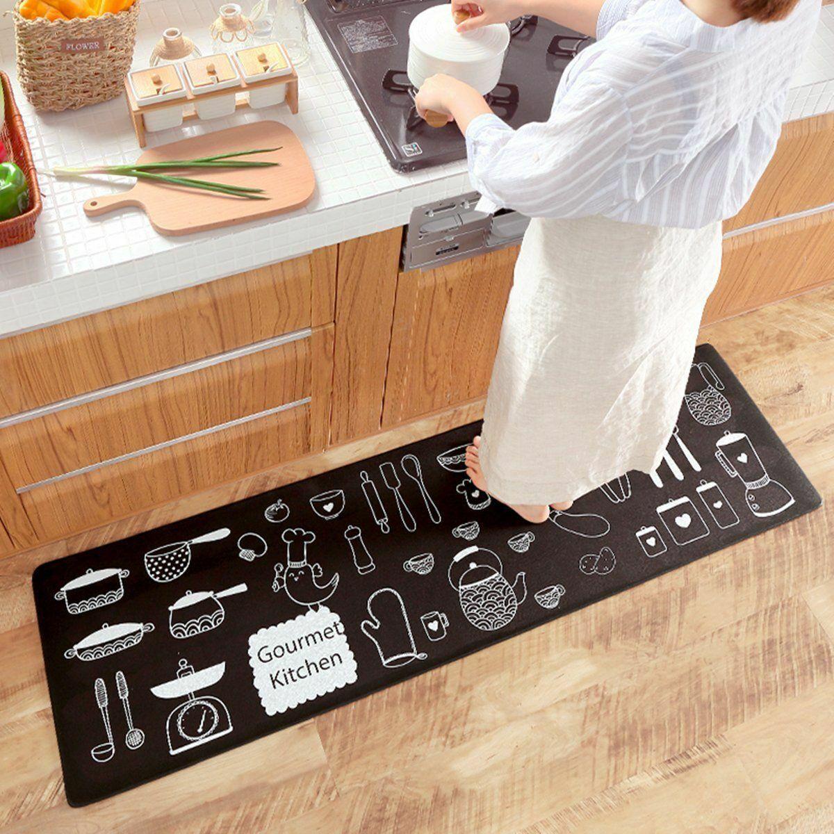 Honana MC-616 Cartoon Carpet Floor And Waterproof Slip Mat For Home Kitcken Sofa Bedroom