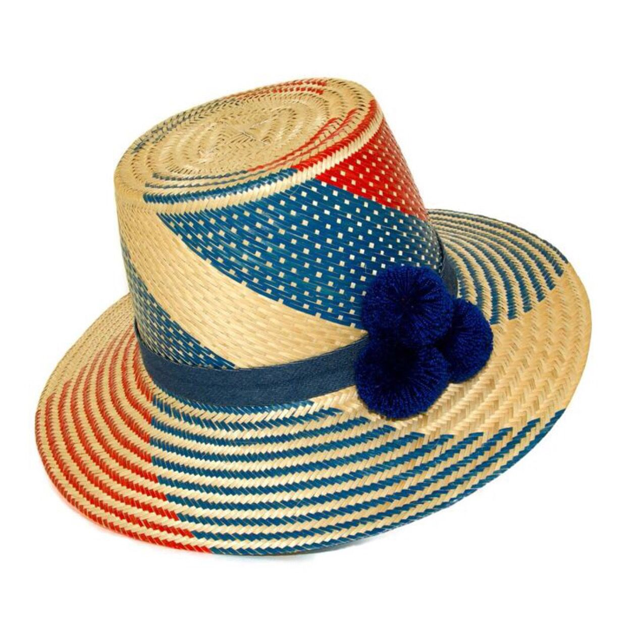 #wayuu #hat #straw #design #guajiro #look #travel www.mama-tierra.org