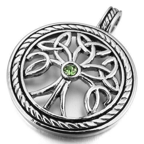 Stainless Steel Pendant Irish Celtic Knot  #Pendant