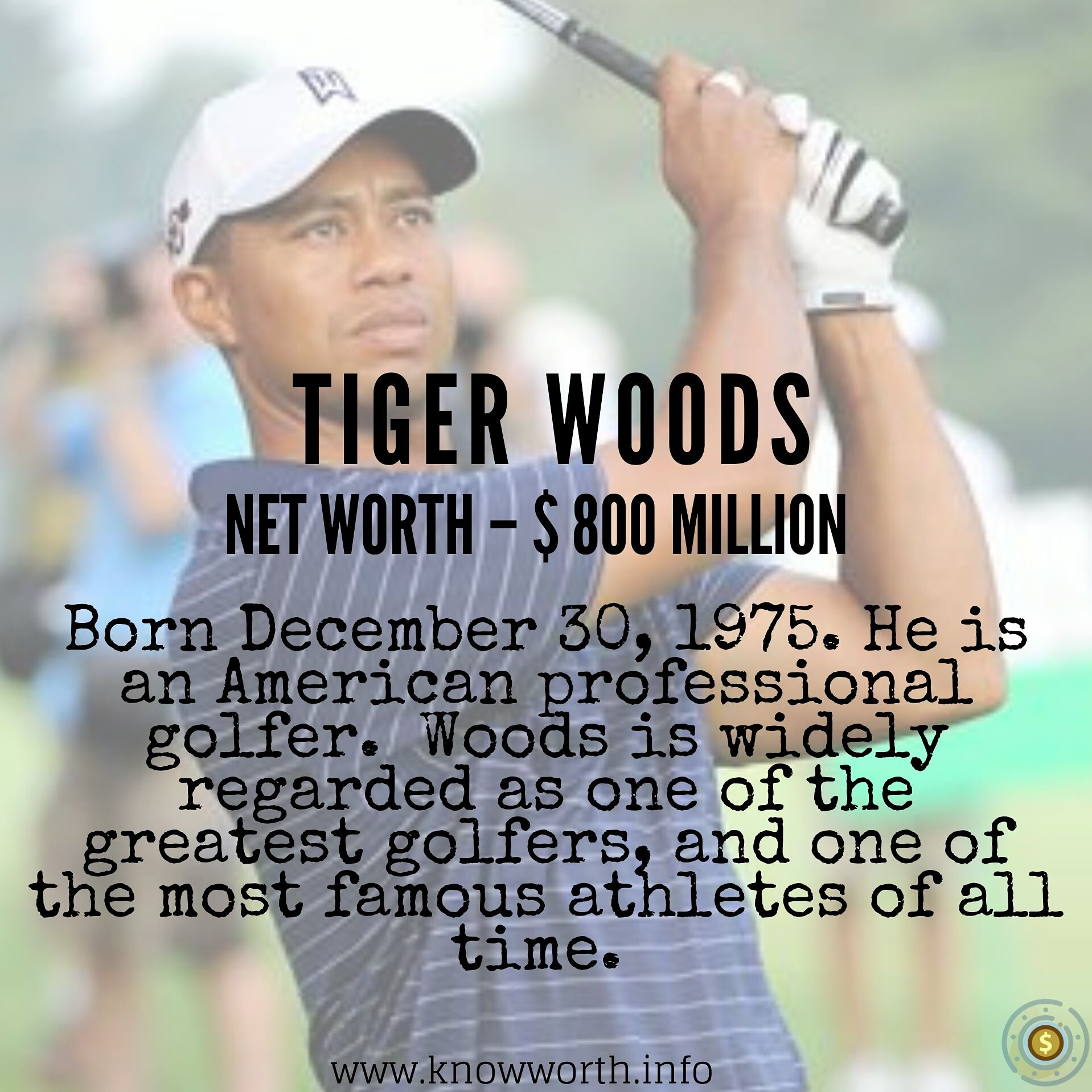 Tiger Woods In 2020 Tiger Woods Net Worth All About Time