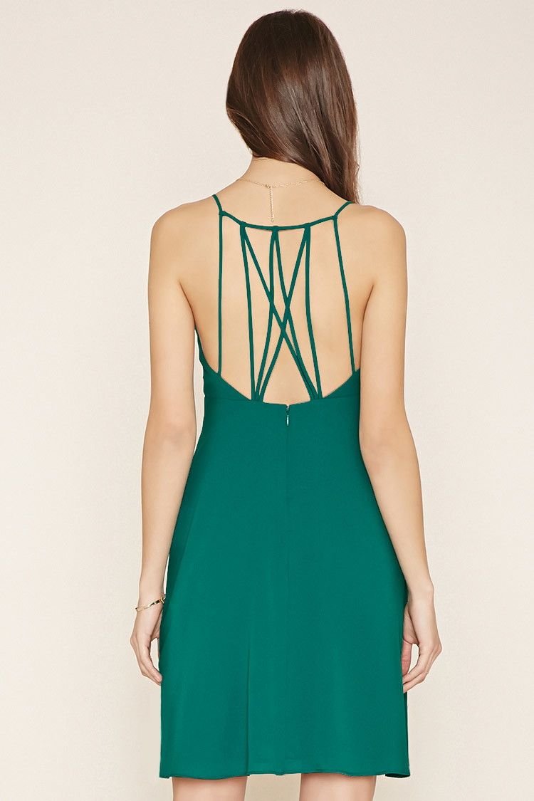 Contemporary Strappy Dress | Forever 21 - 2000152562 | Clothes I ...