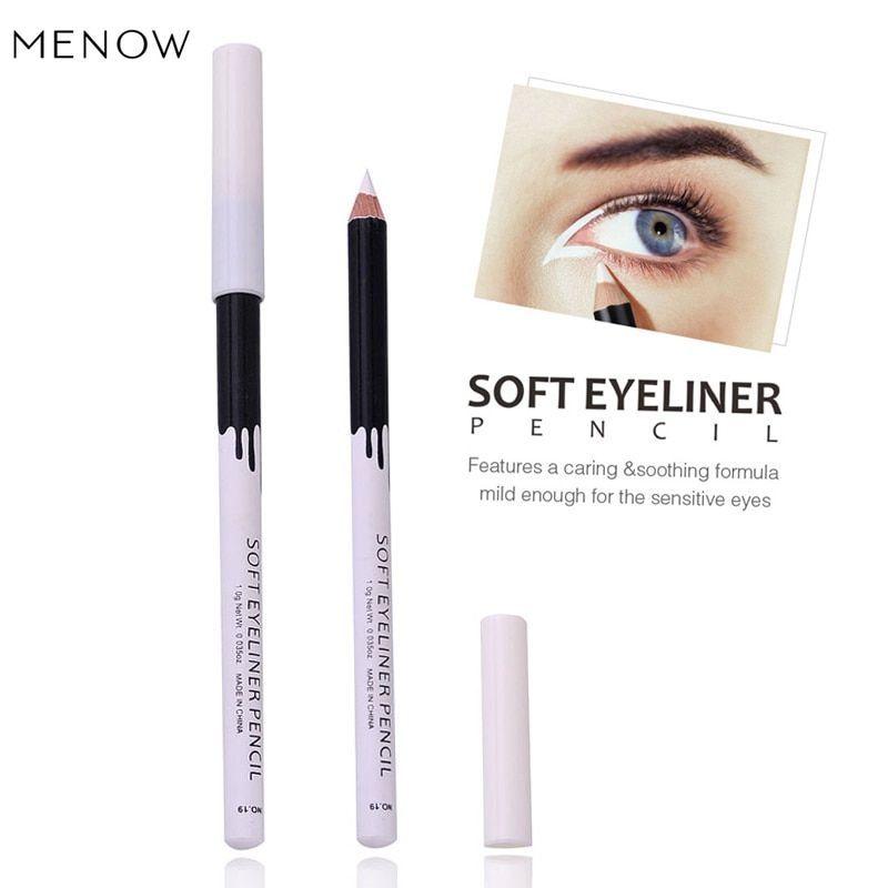 Us 0 47 21 Off Waterproof White Glitter Eyeliner Pencils Makeup Long Lasting Soft Pigments Eye Line In 2020 White Eyeliner Waterproof Eyeliner Pencil Pencil Eyeliner