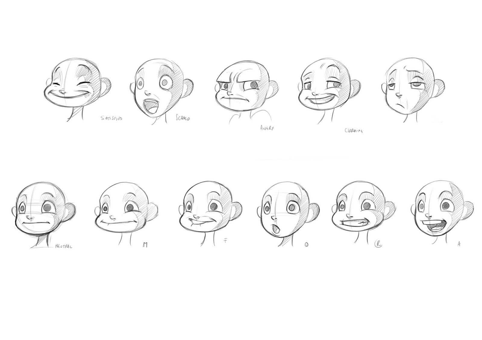Image Result For Character Expression Sheets Lilo And