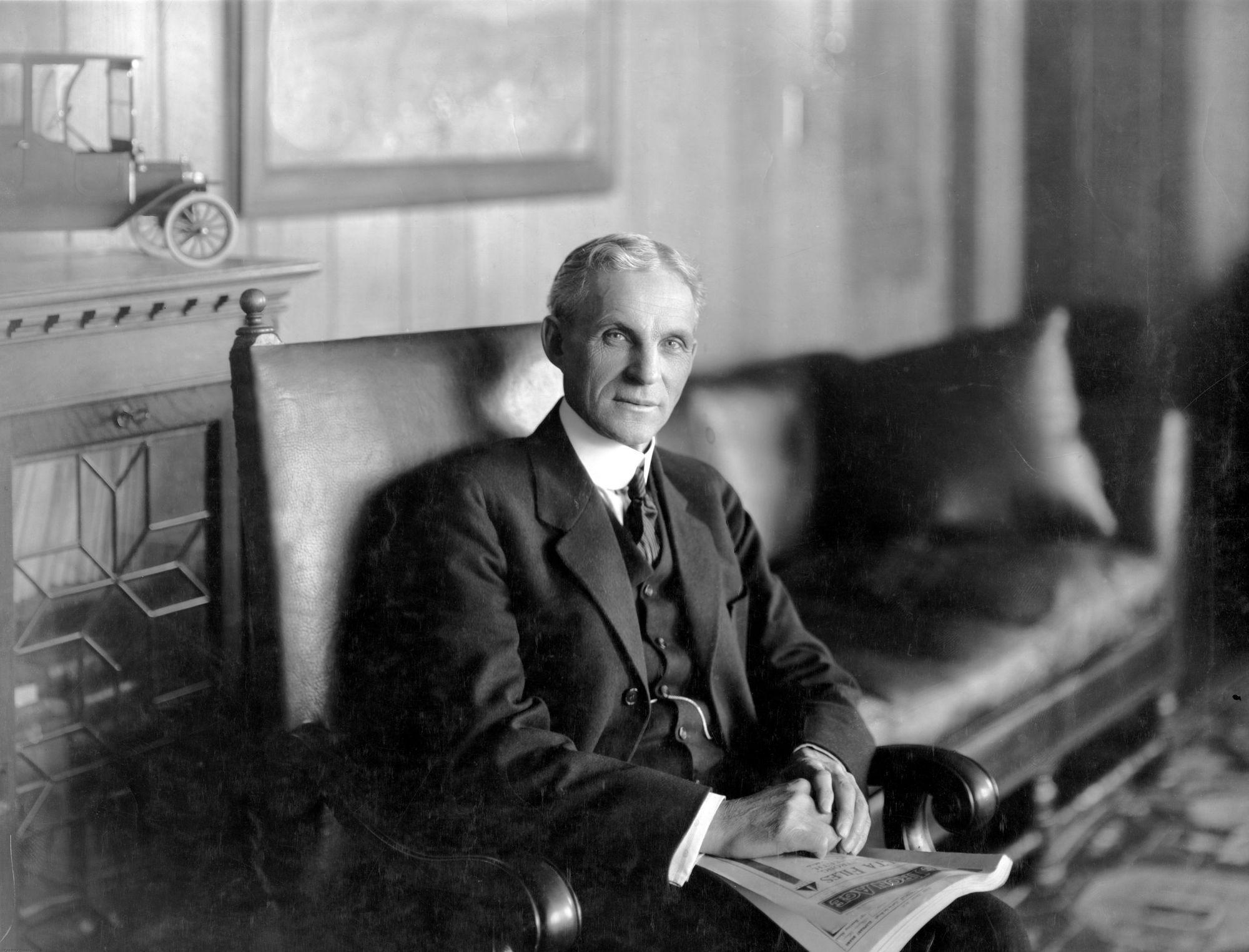 Ге́нри Форд (англ. Henry Ford; 30 июля 1863 — 7 апреля
