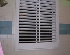 Good Waterproof Window Treatment For Wood Window In Shower?