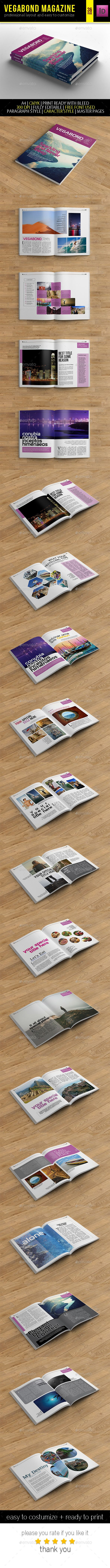 Pin by best Graphic Design on Best Magazine Templates