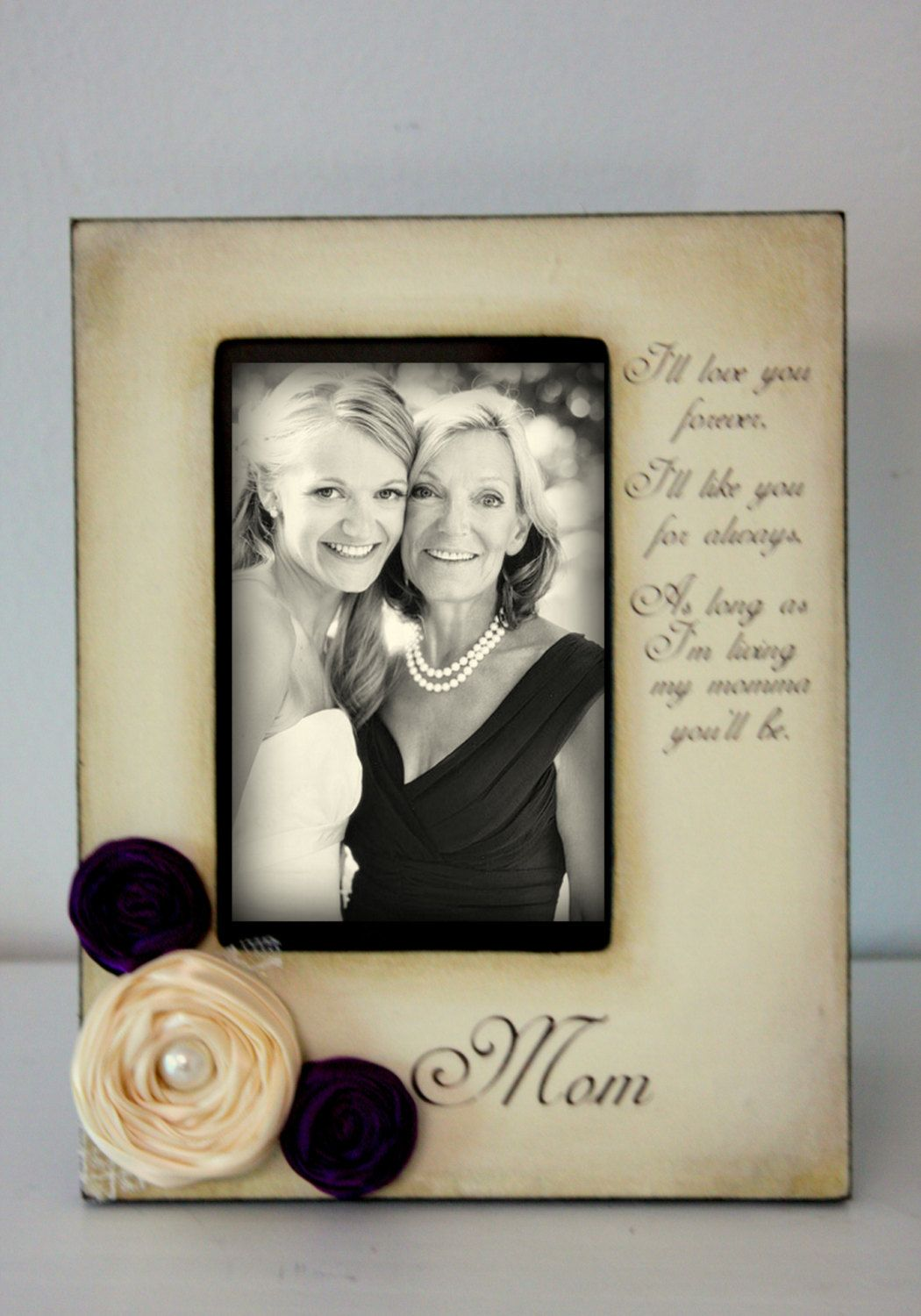 mother daughter son wedding frame bride by desilucollection 5000 - Mom Picture Frame