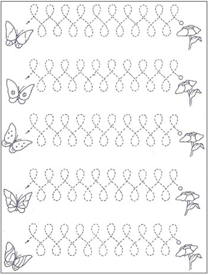 VBS Vlinder fladderen naar de bloemen